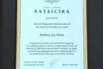 Stokholmā pasniegtas balvas par cilvēku tirdzniecības apkarošanu Baltijas jūras reģionā | Cilvektirdznieciba.lv