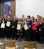 Vergu brīvlaišanas proklamācijas 150.gadadienā ASV vēstniecība godināja Latvijas cilvēku tirdzniecības apkarošanas varoņus
