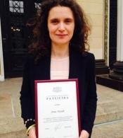 """CBSS TF-THB vadītāja, vecākā padomniece Anna Ekstedt saņem Iekšlietu ministrijas apbalvojumu """"Pateicība"""""""